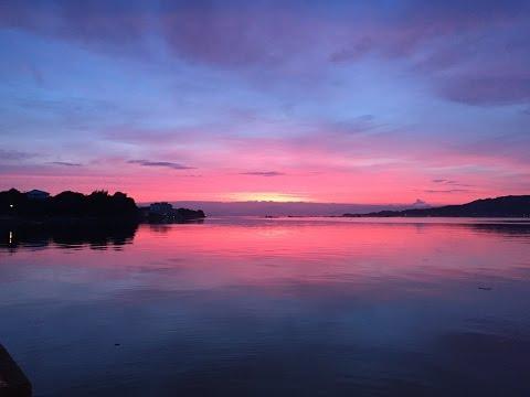 Beautiful Morning Glow / Seto Inland Sea (Setonaikai)