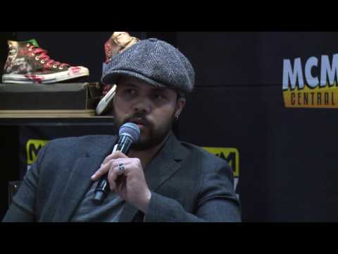 The Musketeers' Howard Charles  on the BUZZ Stage @ MCM London Comic Con