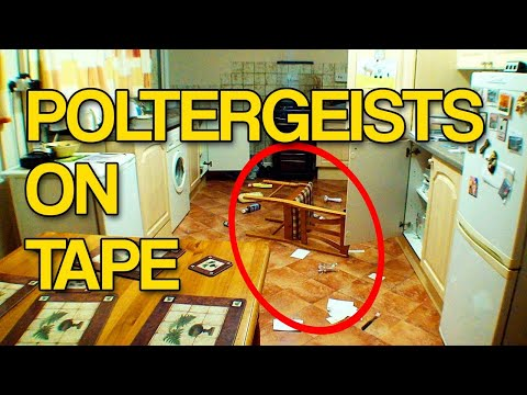 Poltergeist caught on