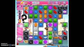 Candy Crush Level 696 help w/audio tips, hints, tricks