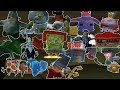All SpongeBob Video Game Bosses (1080p) (BfBB/The Movie/Truth or Square)