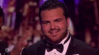 Sal Valentinetti: The Voice With MEGA Performance | Semi-finals 1 (FULL) | America's Got Talent 2016