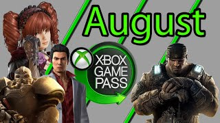 Xbox Game Pass August 2020 Games Suggestions And Additions