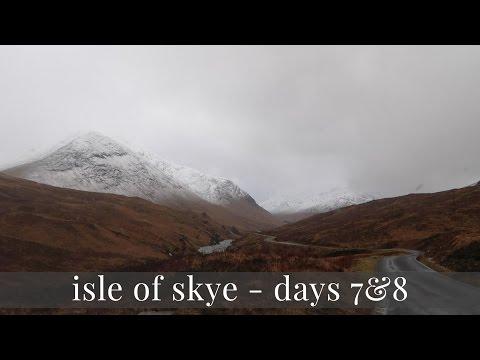 Portree, Glen Coe and Going Home - Isle of Skye Vlog Days 7 & 8