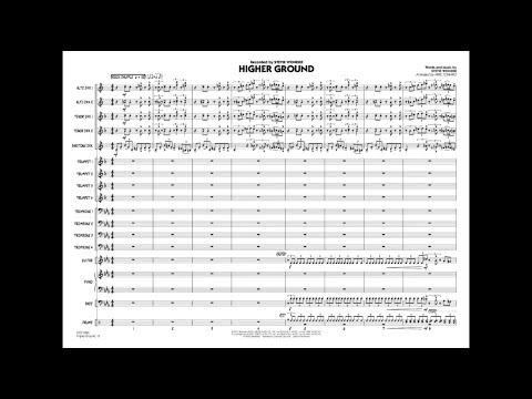 Higher Ground by Stevie Wonder/arranged by Mike Tomaro