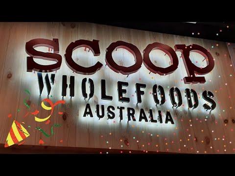 Flagship Organic store SCOOP Wholefoods Australia in Singapore