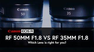 Canon RF 50mm f1.8 vs RF 35mm …