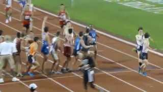 texas relays 2015 dmr heat 1 new braunfels boys