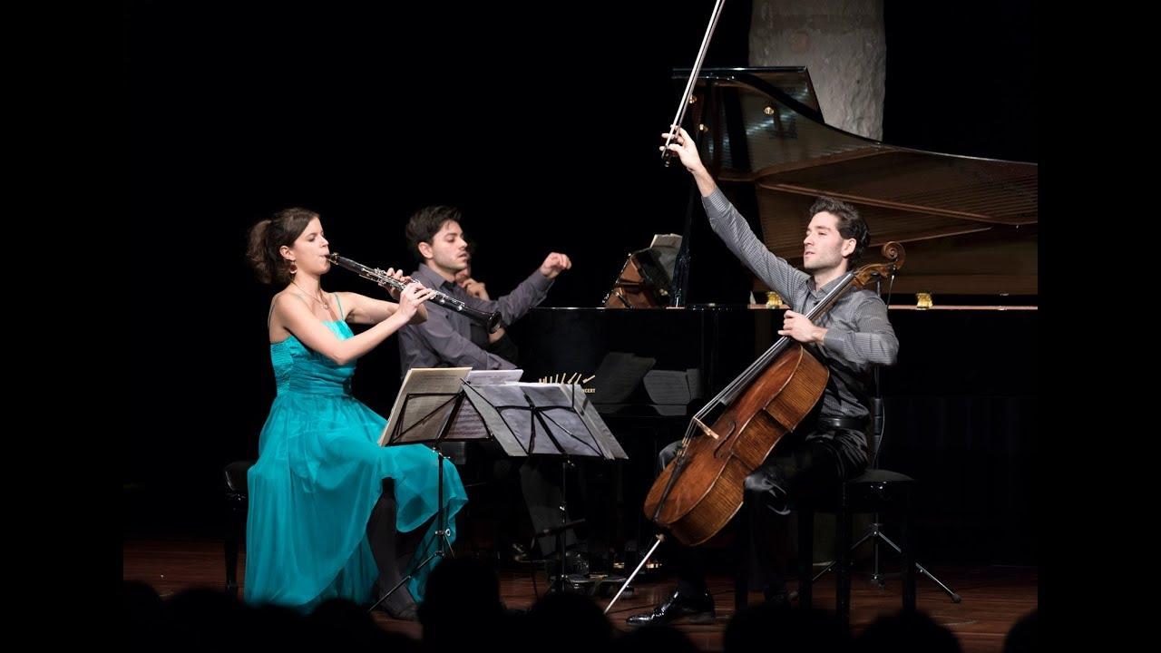 J.Brahms: Clarinet Trio | Juncal Salada, Dani Ruiz & Roger Morelló (Live in Casa Milà/La Pedrera)