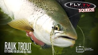 FLY TV Squeeze - Rauk Trout - Fly Fishing for Gotland Sea Trout