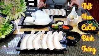 Gambar cover Phát thèm với món thịt heo cuốn bánh tráng kểu (Hàn Quốc) ở Sài Gòn | saigon travel Guide