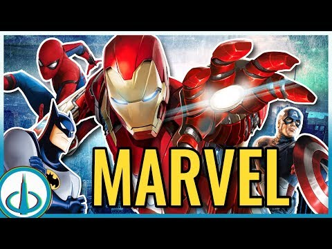 AVENGERS & MARVEL Easter Eggs in DC Cartoons | Watchtower Database