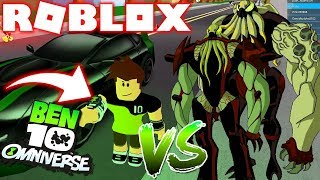 ROBLOX ! - BEN 10 vs VILGAX A BATALHA FINAL +100 LEVEL ! - BEN 10 UNIVERSAL SHOWDOWN