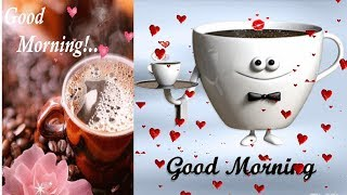 Good Morning Video,Wishes, Message, Whatsapp Status, Animated Good Morning Love GIF 2020