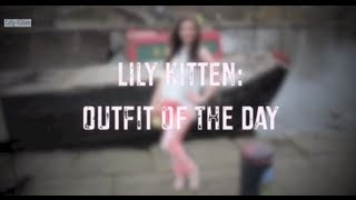 Lily Kitten: OOTD - Brit Stitch & Tie Dye Jeans Thumbnail