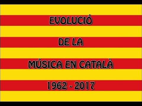 Evolució de la música en català (1962-2017)