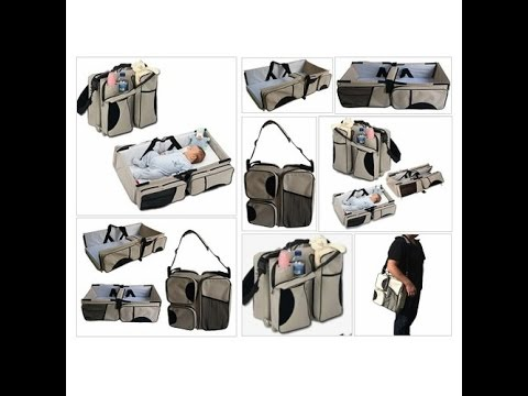 Amazon.com : Boxum 3 in 1 - Diaper Bag - Travel Bassinet -
