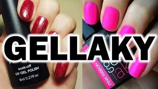 Gellaky z aliexpressu a Rocklacky od Enii-nails