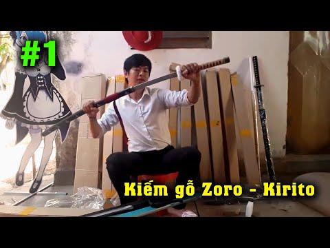 Kiếm Kirito khổng lồ và các loại kiếm 1 Mét khác