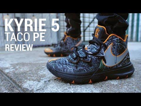 Nike Kyrie 5 Taco PE Lifestyle Review