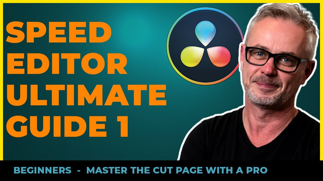 Speed Editor Tutorial & In-Depth with the Cut Page [PART 1] for Beginners by a PRO.