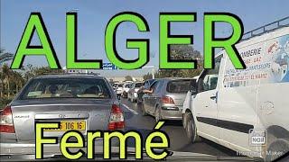 hirak d'Alger aujourd'hui en direct vendredi 34 l'accès à la capitale est fermé