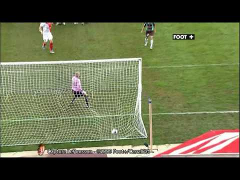 [2009/2010] 2009/8/22 AS Monaco 2-0 FC Lorient Nene freekick goal