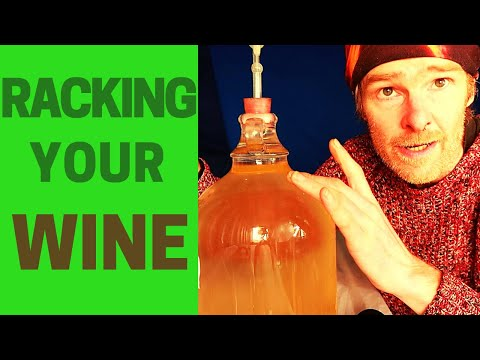 Wine Making 101: How To Rack Your Wine