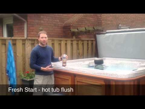 Draining Hot Tub - Fresh Start and Reflection - YouTube
