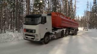Дальнобойщики ДОРОГИ СЕВЕРА РОCСИИ ЗИМНИК ПОДБОРКА #14 Extreme Truck Driver Siberia selection #14