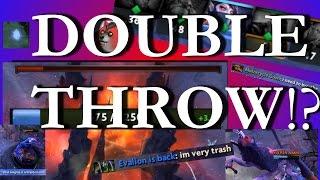 The Dota Double Throw