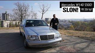 Specijal test: SLON! Mercedes W140 S500! Od mafijaša do političara, svi su ga voleli!