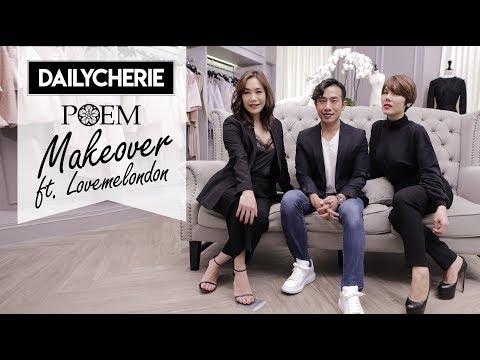 DAILYCHERIE : POEM Makeover ft. Lovemelondon - วันที่ 01 Aug 2018