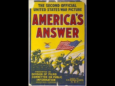 """America's Answer"" (USA, 1918)"
