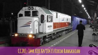 Senin, 14 Agustus 2017, CC206-24 KA 4 Anggrek + Imperial CC201-144r...