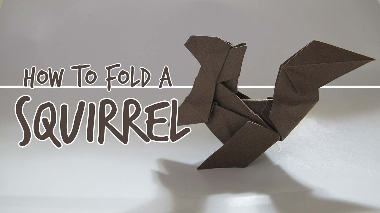How to fold an origami squirrel fuchimoto muneji youtube how to fold an origami squirrel fuchimoto muneji jeuxipadfo Choice Image