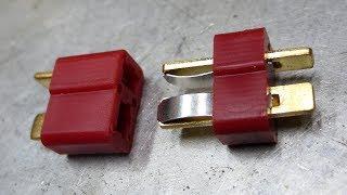 Как качественно припаять - мерзкие разъёмы - T Plug Connector
