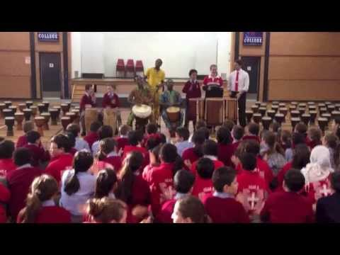 AFRICAN BEAT PERFORMANCE - ST GEORGE COLLEGE