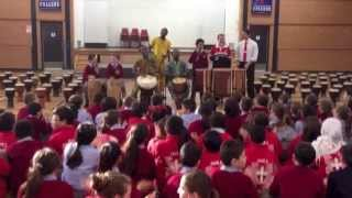 AFRICAN BEAT PERFORMANCE - ST GEORGE COL