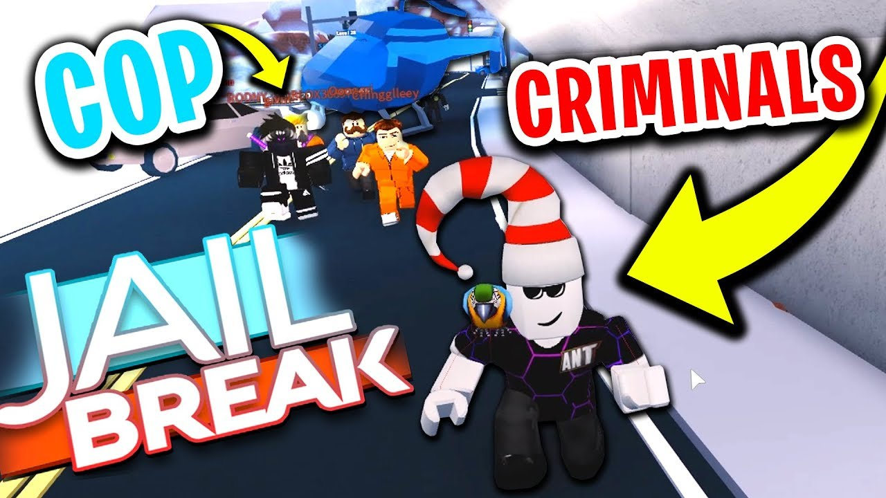 ROBLOX JAILBREAK: COPS VS CRIMINALS