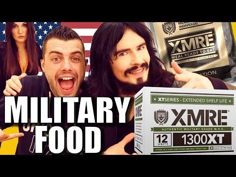 Irish People Taste Test American Military Rations - MRE's - 'US Army Survival Food'