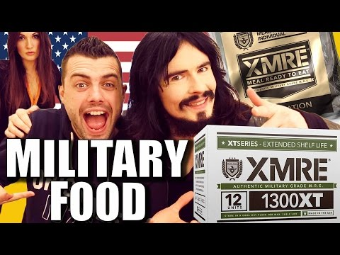 Irish People Try American Military Rations - MRE's - 'US Army Survival Food'