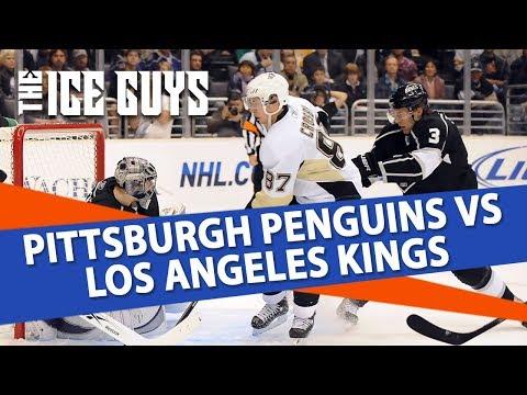 Pittsburgh Penguins vs Los Angeles Kings | The Ice Guys | NHL Picks