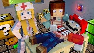 Minecraft: CIRURGIA NO MARIO - ( Surgeon Minecraft)