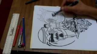 Drawing Syrian Refugee Boy - [Othomanx]
