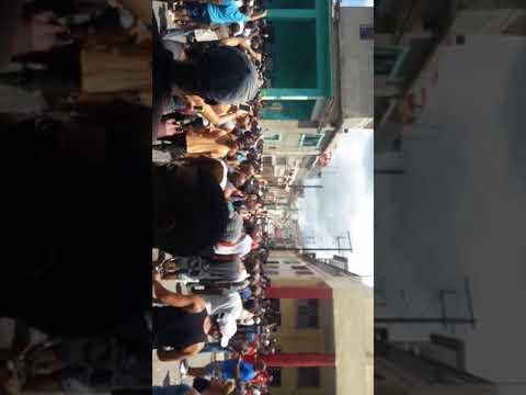 El pueblo de Santo Suárez protesta por falta de agua de luz y ambre en la Habana cuba