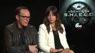 Marvel's Agents of S.H.I.E.L.D. - Clark Gregg & Chloe Bennet on Season 2