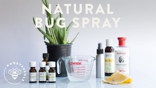 diy natural bug spray is better for you