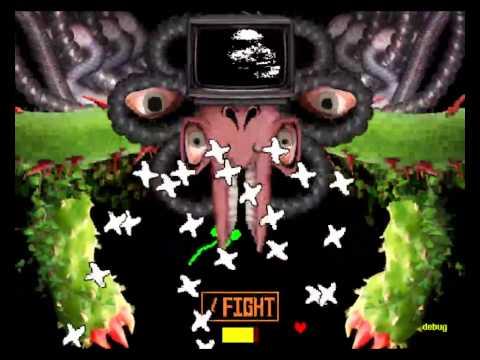 Omega Flowey's HP is weird. - YouTube