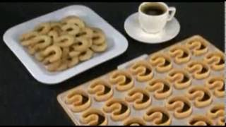 Форма для печенья рогалики Delicia